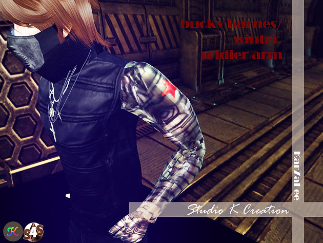 Bucky Barnes winter Soldier-arm