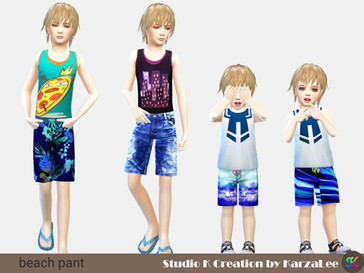 beach pant for kids