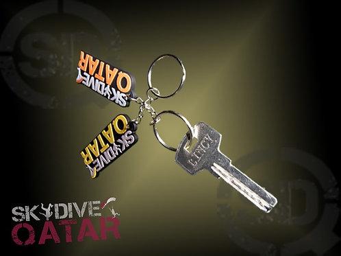 Skydive Qatar Chain key in yellow or orange