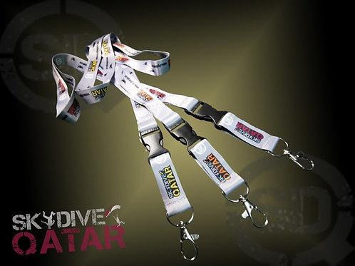 Skydive Qatar lanyards
