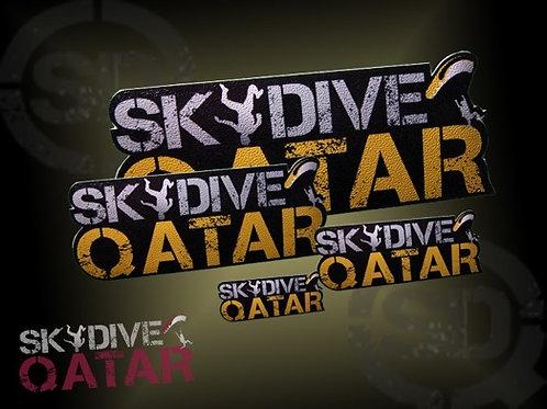Skydive Qatar stickers