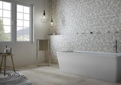 keramisches Mosaik