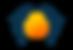 Das Logo vom Ganzheitlichen Wohlbefinden in Dresden zeigt zwei Delfine und eine aufgehende Sonne