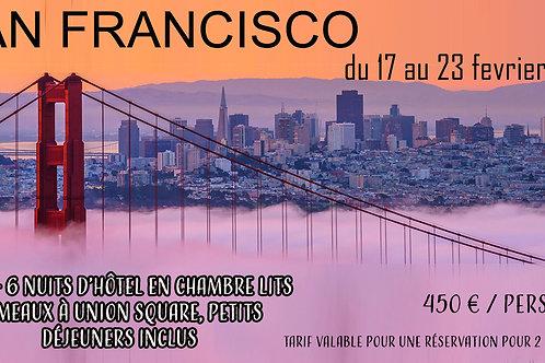 Une semaine à San Francisco !