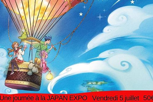 Journée à la Japan expo (5 juillet)