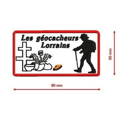 """Patch """"Les geocacheurs Lorrains"""""""