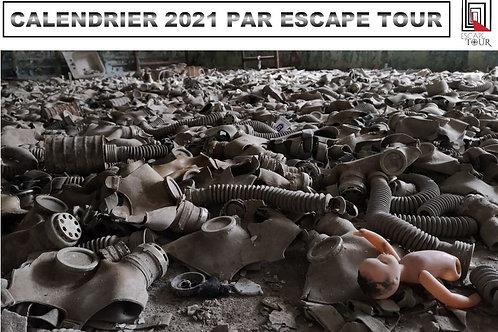 Calendrier 2021 by Escape Tour