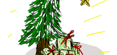 Pochette Sapin de Noël