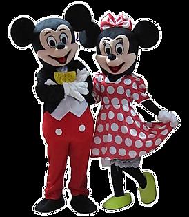 disney mascot rental