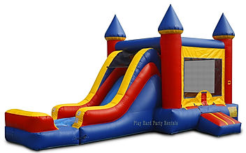 BounceHouse Combo with Slide rental
