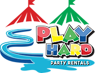 Logo For Play Hard Party Rentals