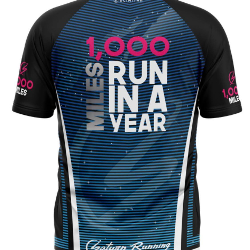 1,000 Miles Run In A Year Challenge