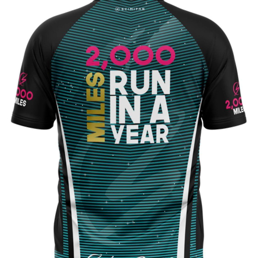 2,000 Miles Run In A Year Challenge
