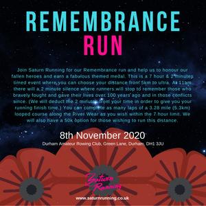REMEMBRANCE RUN, SATURN RUNNING