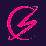 Logo pink on blue.png