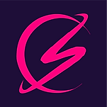 Logo pink on blue.png