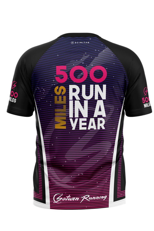 PRE-ORDER Womens 500 Mile Saturn Running T-shirt