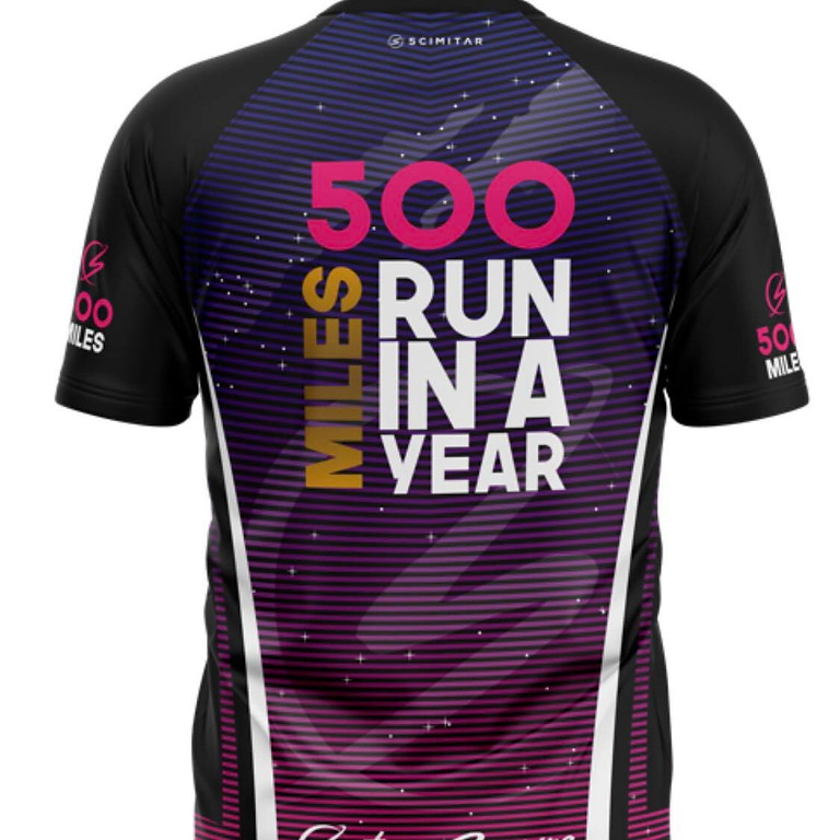 500 Miles Run In A Year Challenge