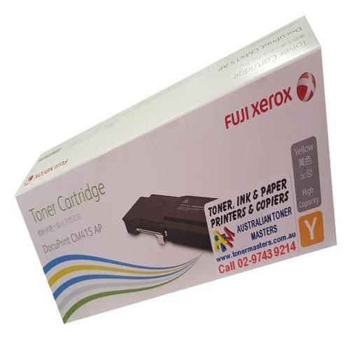 Fuji CM415 Yellow Toner Cartridge High Cap