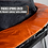 Thumbnail: Bounce Pro 15-Foot Trampoline, with Classic Enclosure, Orange