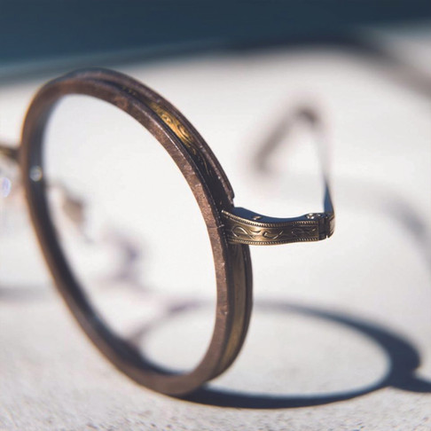 Gold&Wood Lunettes