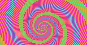Spirale illusion d'optique, Mathieu Chaudeur opticien