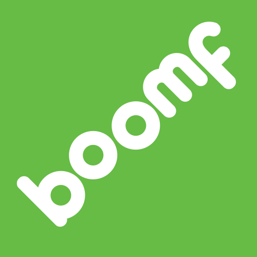 Boomf Up to 4% back