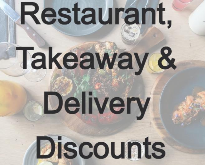 Restaurant & Takeaway discounts