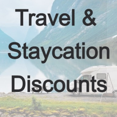 Travel, Staycation, Experiences discounts