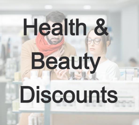 Health & Beauty discounts