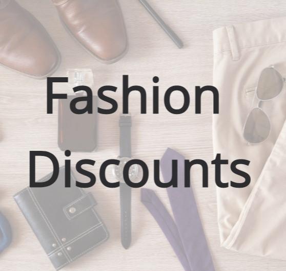 Fashion discounts