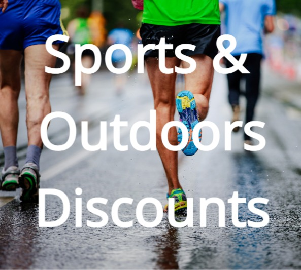 Sports & Outdoors discounts