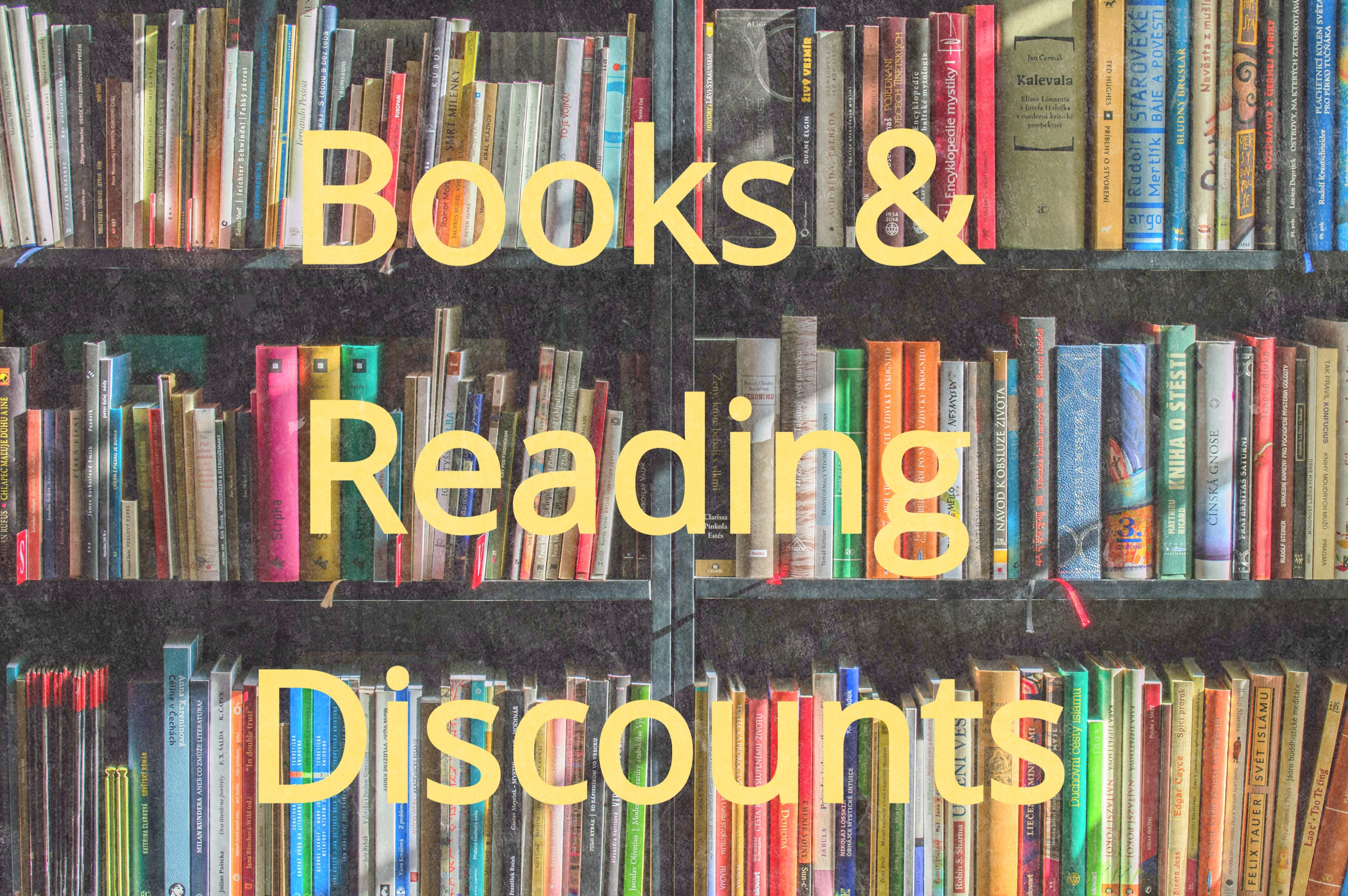 Books & Reading discounts
