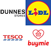 Dunnes, Tesco, Lidl May discount €15