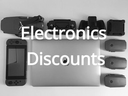 Electronics discounts