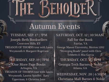 Fall Events Calendar!