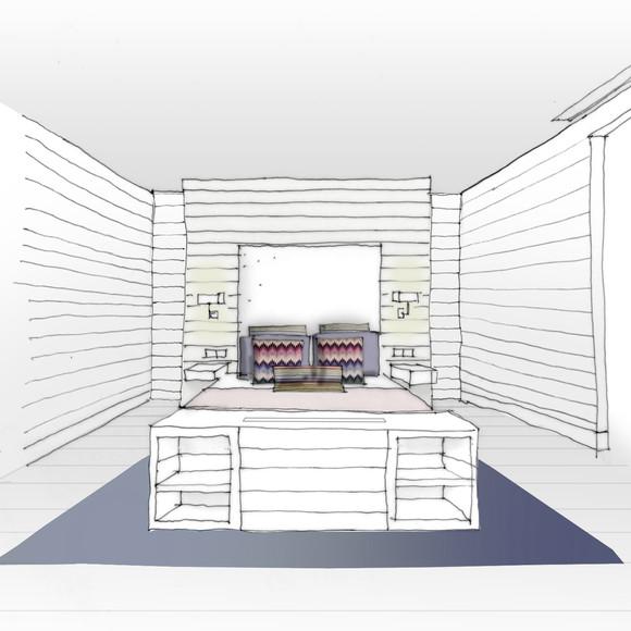 Visual Master Bedroom