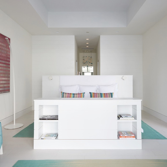 Master Bed with concealed TV