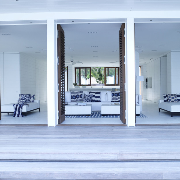 deck to living
