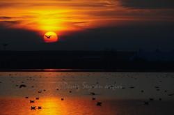Gölbaşı-günbatımı
