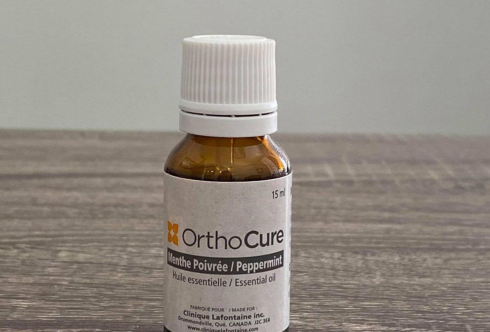 Huile essentielle Menthe poivrée - Orthocure