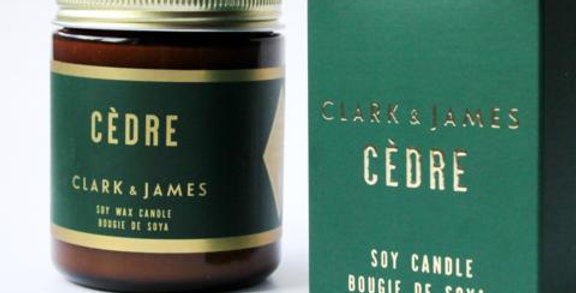 Chandelle Cèdre - Dot & Lil