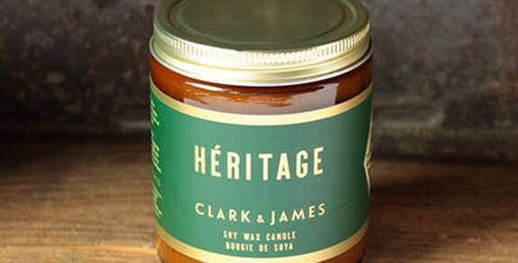 Chandelle Héritage - Clark&James par Dot & Lil