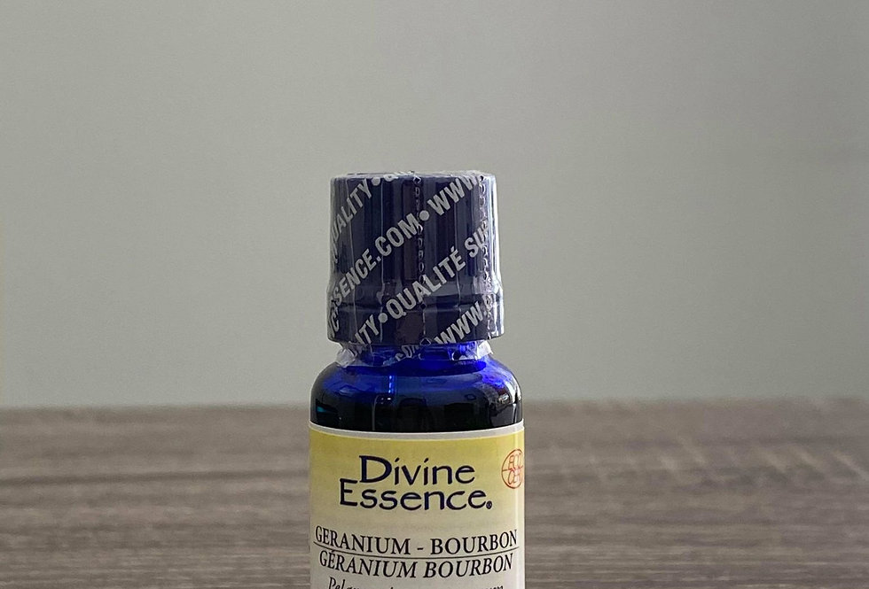 Huile essentielle Géranium Bourbon - Divine Essence