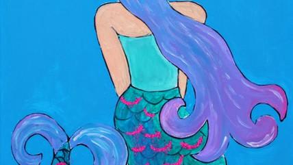 Shy Mermaid