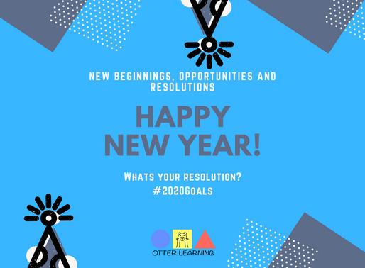 Preschool and Kids New Years Resolutions