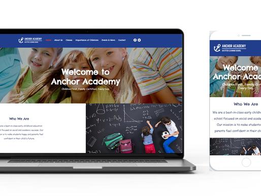 Announcement: New Anchor Academy Website!