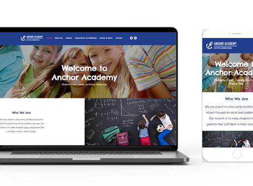 New Anchor Academy Website!