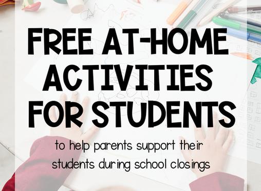 Week 4 - Free Home Resources: Mathematics