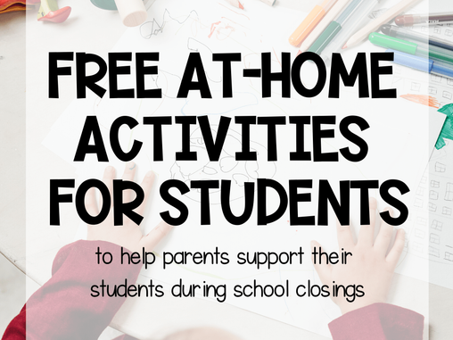 Week 2 - Free Home Resources: Activity / Well Being